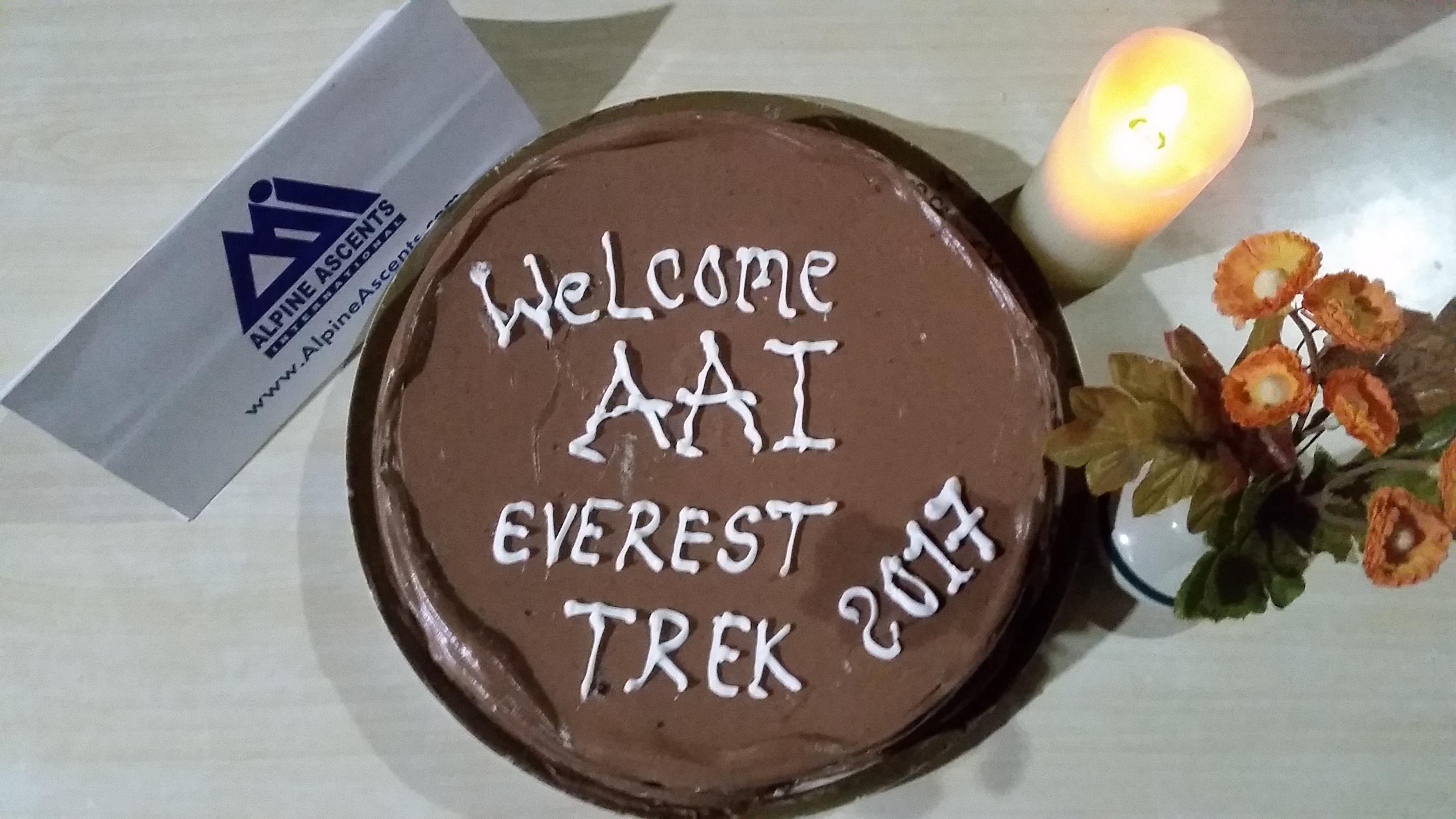 Everest Trek Team Namaste High Goes Low Alpine Ascents International